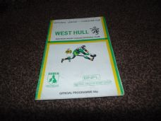 West Hull v Woolston Rovers